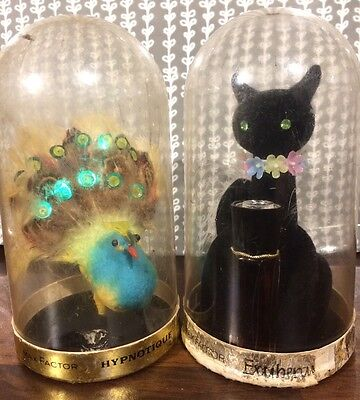 Max Factor Vintage Cat And Peacock Hypnotique Exuberance Perfume Valentines Gift