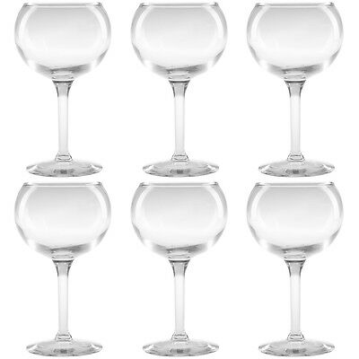 6 Libbey Citation 9oz Burgundy Red Wine Glasses 8471 Restaurant Wholesale Bulk