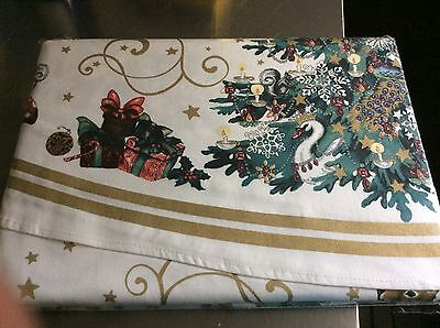 1 WILLIAMS SONOMA TWAS THE NIGHT BEFORE CHRISTMAS TABLECLOTH 90 Round
