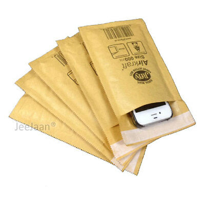Genuine Jiffy Airkaft Gold Padded Bubble Envelopes Bags Fast Dispatch New Lot