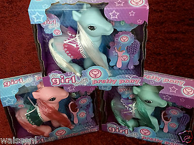 New Famous It's Girl Stuff! Pretty Pony in Various Colours for Kids, Children