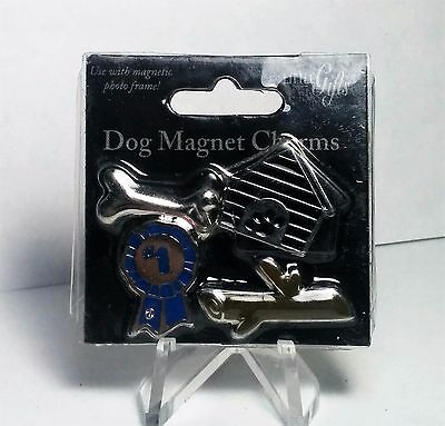 Little Gifts 4Pc Dog Magnet Charms