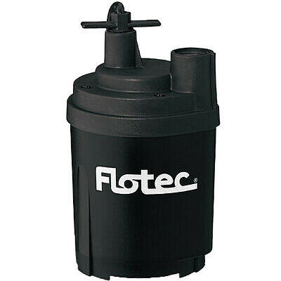 """Flotec FP0S1300X - 24.5 GPM 1/6 HP (3/4"""" or 1"""") Submersible Utility Pump"""