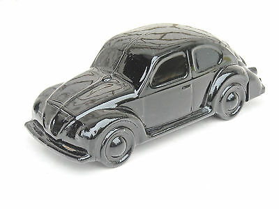 Avon Black Volkswagen Beetle Glass Car Bottle with Wild Country After Shave