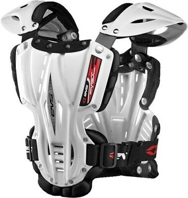 EVS Sports White Vex Chest Protector ( Size M / Medium ) VEX-W-M Adult Vex Roost