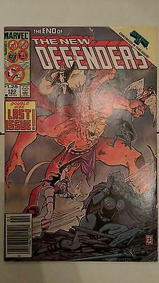 The Defenders #152 (Feb 1986, Marvel) Final Issue