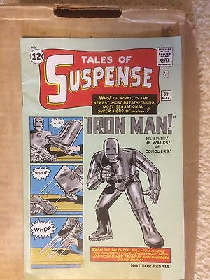 Tales Of Suspense #39 Reprint First Appearance Iron Man HTF Rare NM
