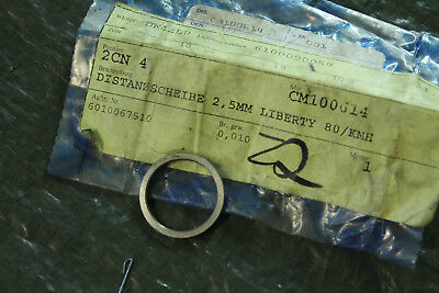 Piaggio Liberty 125 Spacer washer CM100614 Throttle 80 kmh 0 1/8in
