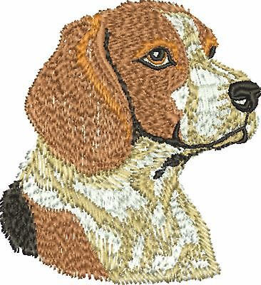 Dog - Beagle Embroidered & Personalised Hoodie