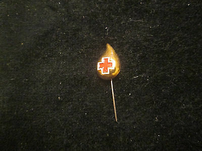 Red Cross Blood Donor  (Drop)   Pin