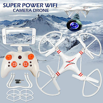 2.4G Remote Control 4CH 6-Axis Gyro Super Power  RC Quadcopter with HD Camera