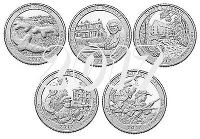 National Park Quarter 2017 D Mint