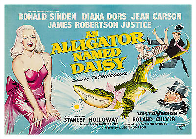 An Alligator Named Daisy (1955) - A1/A2 POSTER *BUY ANY 2 AND GET 1 FREE OFFER*