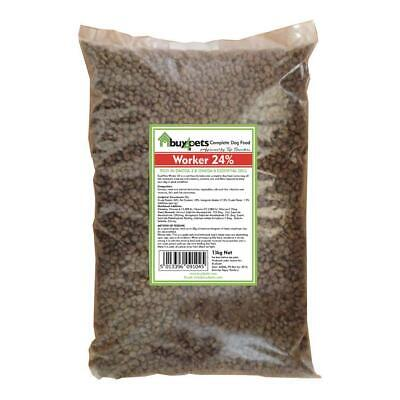 Dry Dog Food Working Dog or Chicken and Rice Omega 3 & 6 Essential Oils 30kg