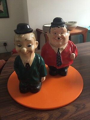 Vintage Laurel And Hardy Money-boxes