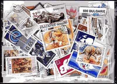 Bulgarie - Bulgaria 500 timbres différents