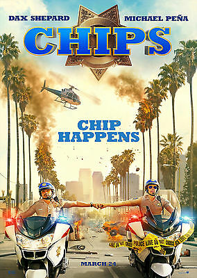 Chips (2017) - A1/A2 POSTER ***BUY ANY 2 AND GET 1 FREE OFFER***