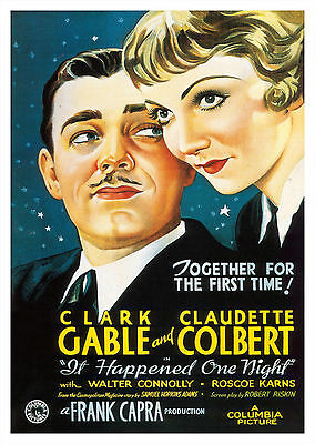 It Happened One Night (1934) - A1/A2 POSTER ***BUY ANY 2 AND GET 1 FREE OFFER***