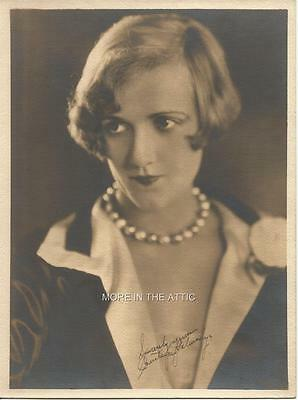 Silent Screen Starlet Constance Talmadge Original Hollywood Fan Photo