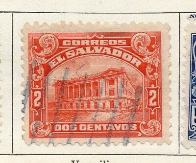 Salvador 1916 Early Issue Fine Used 2c. 126175