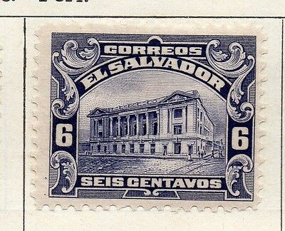 Salvador 1916 Early Issue Fine Mint Hinged 6c. 126177