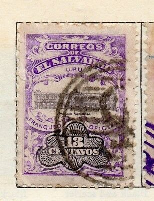 Salvador 1907 Early Issue Fine Used 13c. 126181