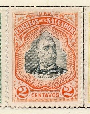 Salvador 1906 Early Issue Fine Mint Hinged 2c. 126202