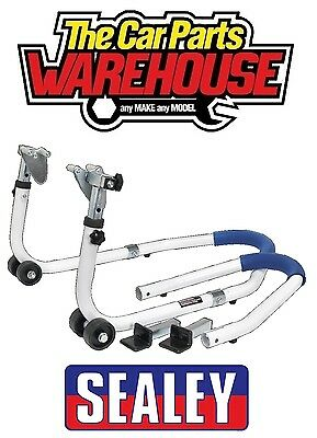 ⭐️ Sealey Motorcycle Height Adjustable Front/Rear Combination Stand RPS5 ⭐️