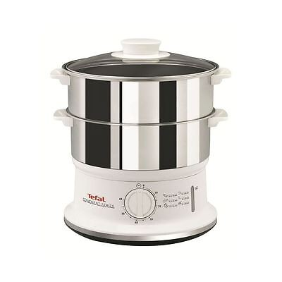 Tefal VC145140 Compact 900W 6L 3 Tier Electric Food Steamer New