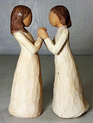 Willow Tree Sisters by Heart Susan Lordi Set of 2 Figurines