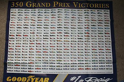 F1 Goodyear 350 Grand Prix victories poster