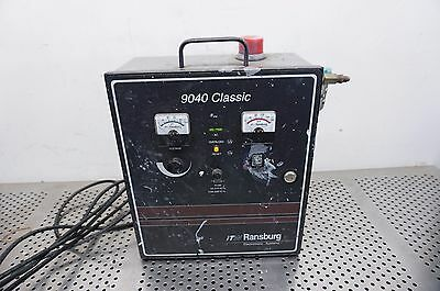 ITW Ransburg 9040 Classic Electrostatic Paint System Sprayer high voltage