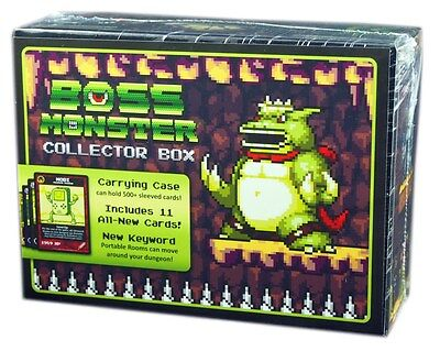 Brotherwise Games, Boss Monster Collector Box, New and Sealed