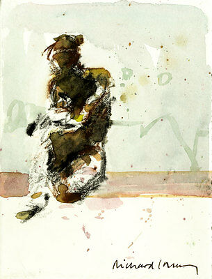 Richard J.S. Young - Contemporary Mixed Media, Figure Study