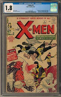 X-Men #1 CGC 1.8 (OW) Key Issue 1st X-Men & Magneto Appearance