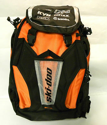 Ski doo Summit Tunnel Backpack Bag (Orange) Mfr# 860200736