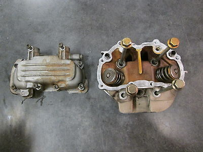 87-91 Yamaha XC200 Cylinder Head with Valve Cover & Bolts  200 Riva