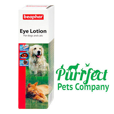 Beaphar Eye Lotion for Cats & Dogs - Soothes Irritation (LOW PRICE)