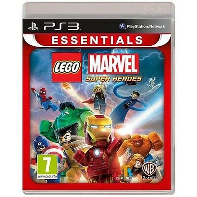 Lego Marvel Super Heroes Game PS3 (Essentials) - Brand new!