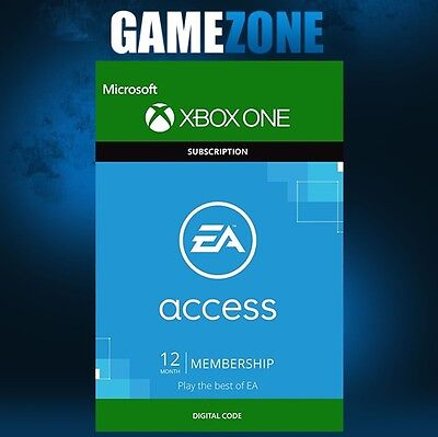 EA Access 12 Month Membership - Xbox One - 1 Year Key Subscription