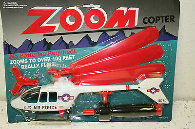 Zoom Copter Flies Over 100 Feet No Batteries Helicopter