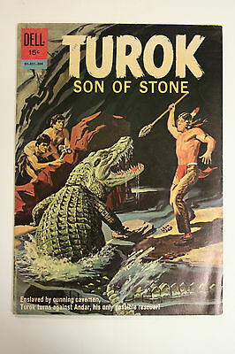 Turok Son Of Stone Dell Comics #28 June-Aug 1962
