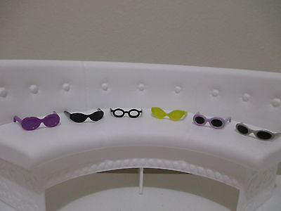 barbie doll accessory eye glasses sunglasses gorgeous accessory mattel lot # 1