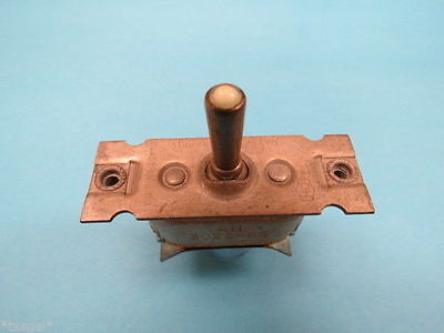 AN3022-6B (ON)-OFF-(MOM.ON) Vintage Aircraft Toggle Switch NOS Warbird