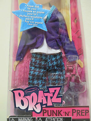 Bratz Fashion Pack - Punk N Prep Doll Clothing/Accessories New in package