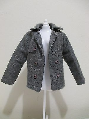 used ken doll clothing dressygray wool jacket coat twilight