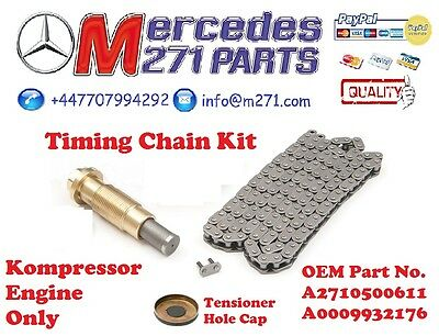 Mercedes M271` - Timing Chain Kit A2710520416 includes A0009932176 + A2710500611