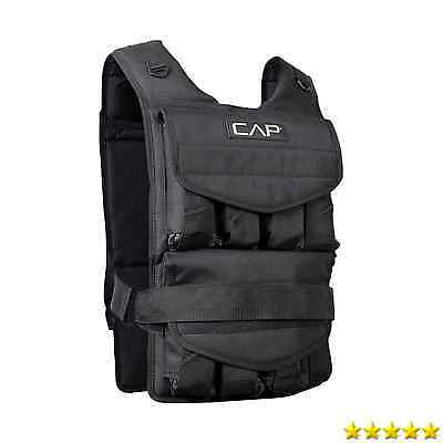 CAP Barbell Adjustable Weighted Vest, 80 lb New