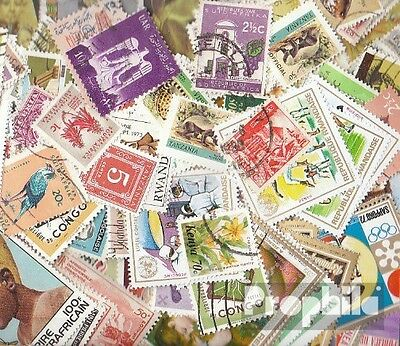 Africa 150 different stamps