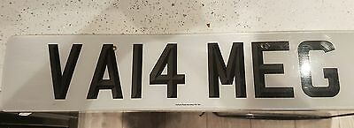 Private plate val or meg